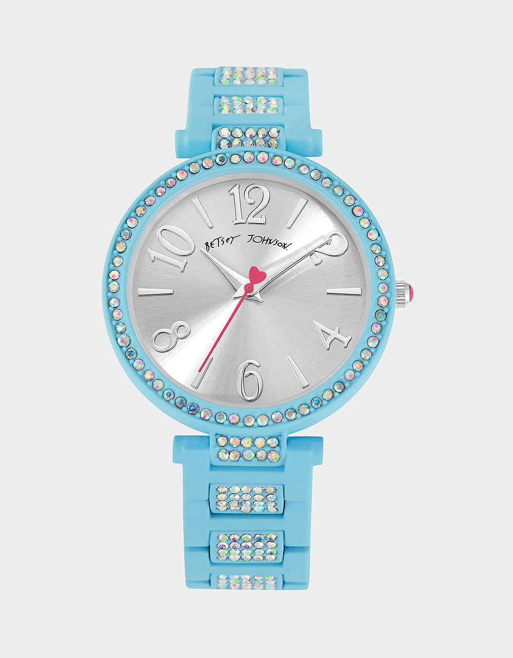 LINKED LOVE WATCH BLUE - JEWELRY - Betsey Johnson