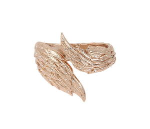 Little Angels Wing Bangle Crystal by Betsey Johnson