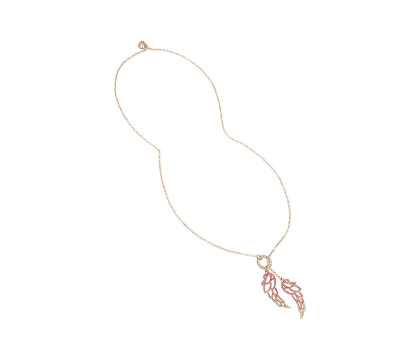 LITTLE ANGELS WING LARIAT PINK - JEWELRY - Betsey Johnson