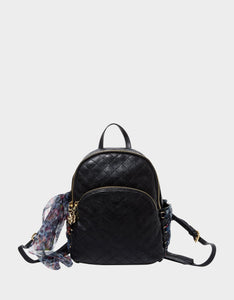 LOVE SHACK LACING SMALL BACKPACK BLACK