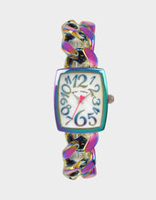 LOVELY LINKS RAINBOW WATCH RAINBOW MULTI - JEWELRY - Betsey Johnson