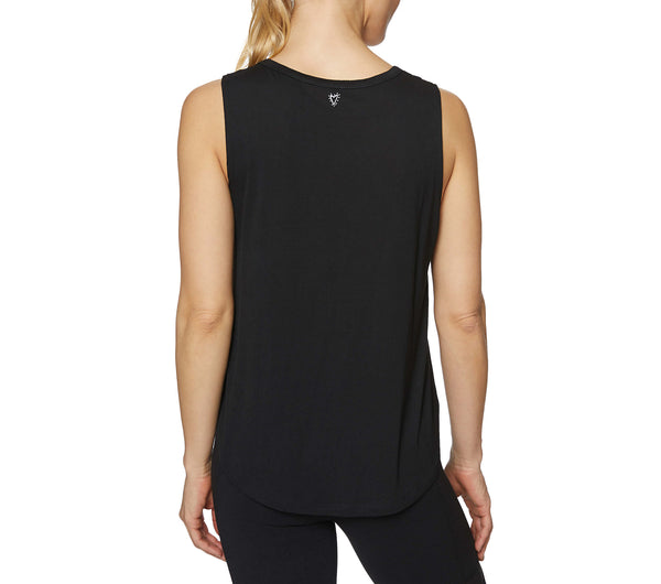 LOVERS GONNA LOVE TANK BLACK - APPAREL - Betsey Johnson