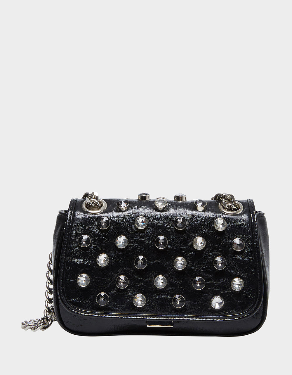 LUXE LIST SHOULDER BAG BLACK - HANDBAGS - Betsey Johnson