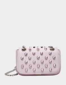 LUXE LIST SHOULDER BAG BLUSH