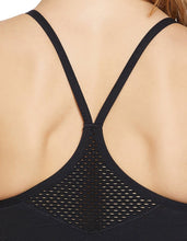 MAPPED RIB SEAMLESS EXTENDED BRA BLACK - APPAREL - Betsey Johnson