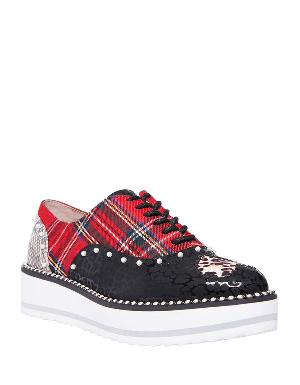 MARTI RED MULTI - SHOES - Betsey Johnson