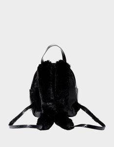 MEOW IN THE DARK BACKPACK BLACK