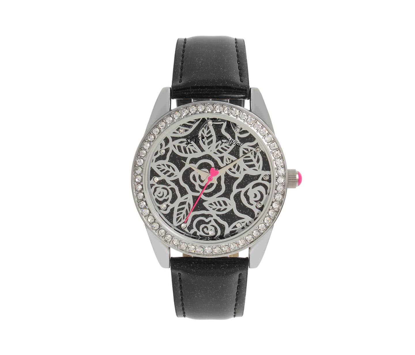 METALWORK ROSES WATCH BLACK - JEWELRY - Betsey Johnson