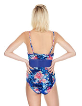 MIDNIGHT GARDEN TOO ONE PIECE BLUE MULTI - APPAREL - Betsey Johnson