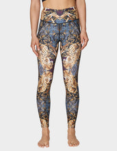 MIRRORED LEOPARD PRINT ANKLE LEGGING MULTI - APPAREL - Betsey Johnson