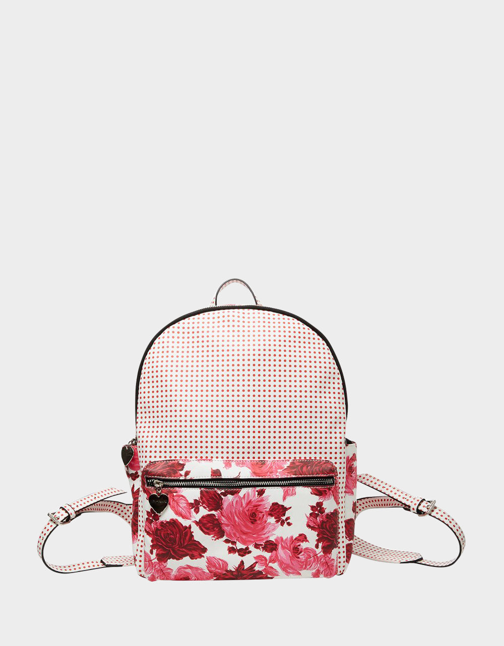 MIXING IT UP LARGE BACKPACK PINK - HANDBAGS - Betsey Johnson