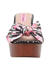 MOSCOW BLACK PINSTRIPE - SHOES - Betsey Johnson