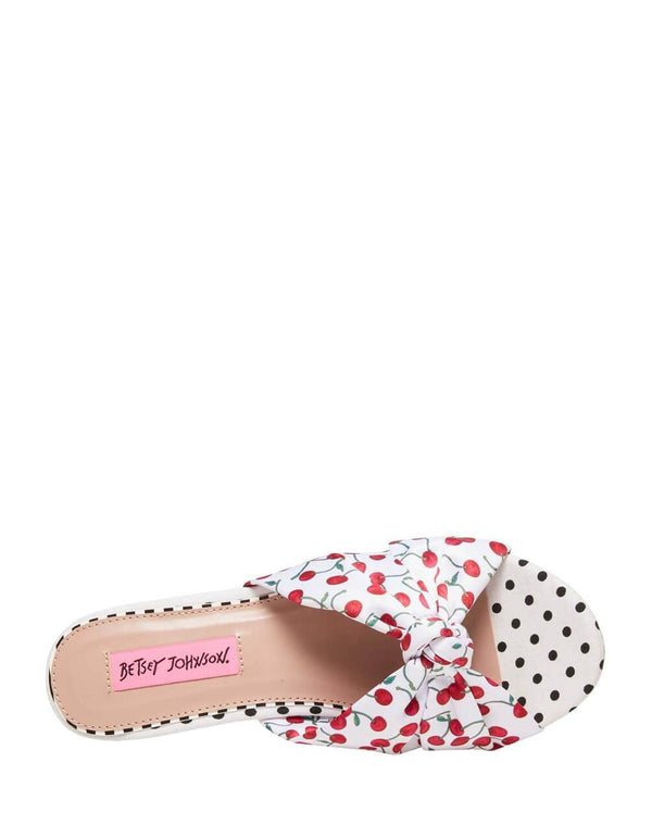 MOSCOW CHERRY - SHOES - Betsey Johnson