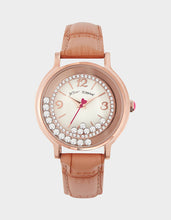MOVING CRYSTALS WATCH ROSE GOLD - JEWELRY - Betsey Johnson