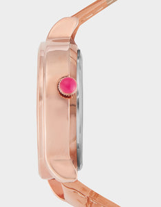 MOVING CRYSTALS WATCH ROSE GOLD