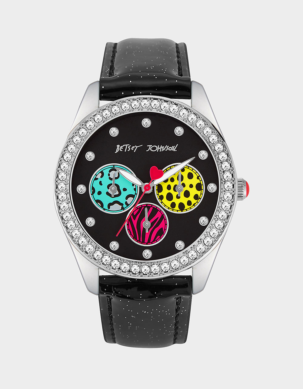 MOVING PARTS WATCH BLACK - JEWELRY - Betsey Johnson