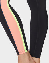 MULTICOLOR TRIM SIDES LEGGING BLACK - APPAREL - Betsey Johnson