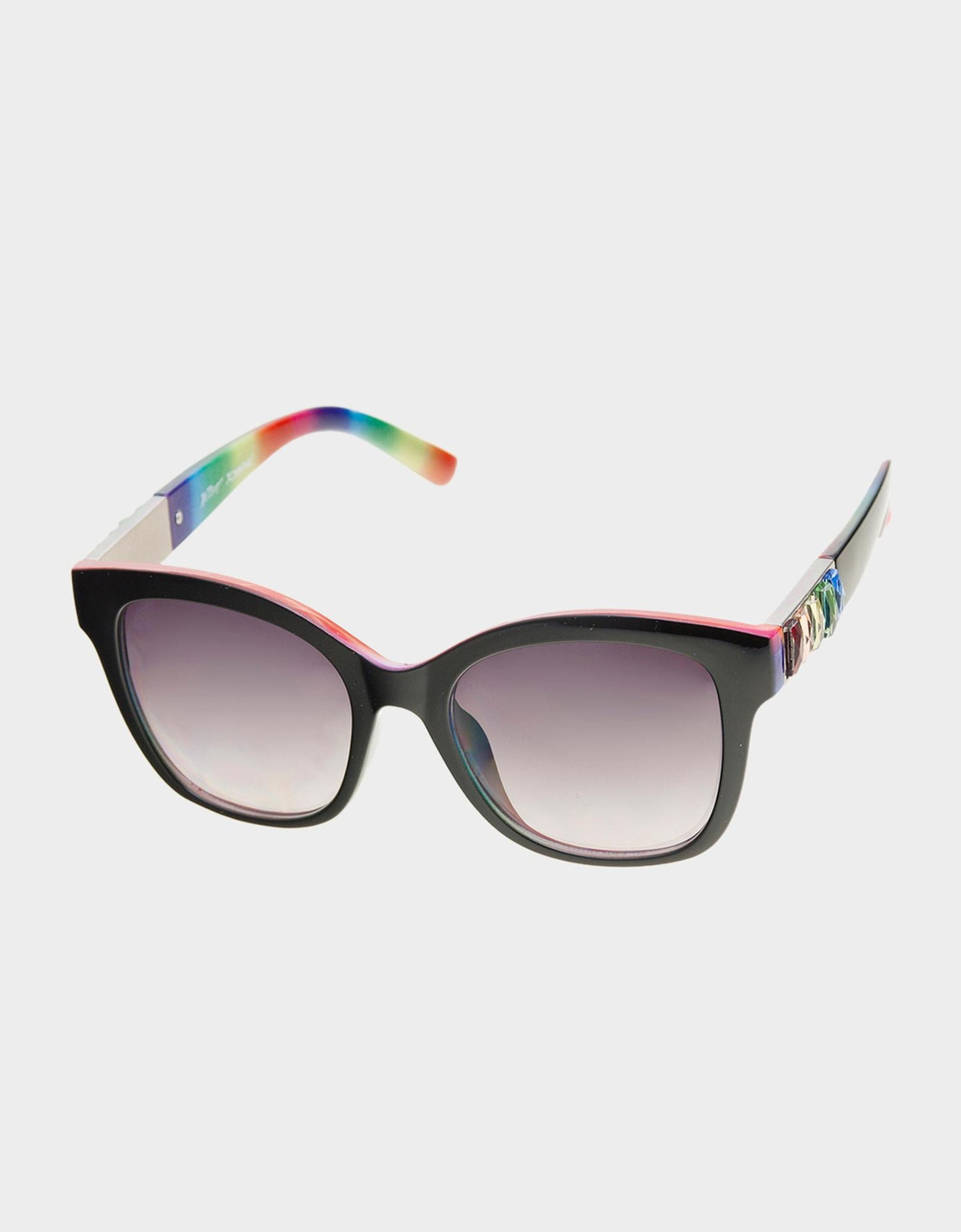 NOT SO BASIC SUNGLASSES BLACK - ACCESSORIES - Betsey Johnson