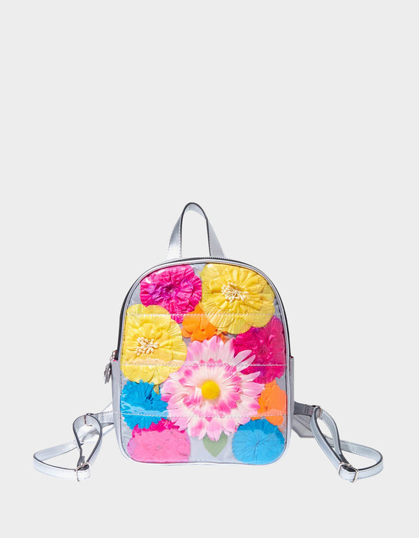 NOT YOUR GARDEN VARIETY SMALL BACKPACK MULTI - HANDBAGS - Betsey Johnson