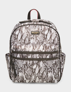 NYLON GONE WILD BACKPACK BLACK-WHITE