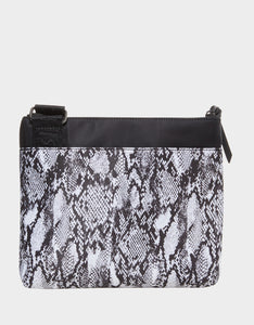 NYLON GONE WILD CROSSBODY BLACK-WHITE