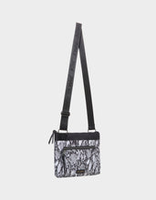 NYLON GONE WILD CROSSBODY BLACK-WHITE - HANDBAGS - Betsey Johnson