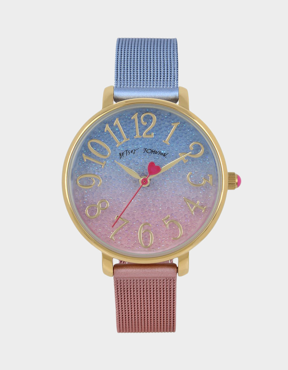 OMBRE MESHTASTIC WATCH BLUE MULTI - JEWELRY - Betsey Johnson