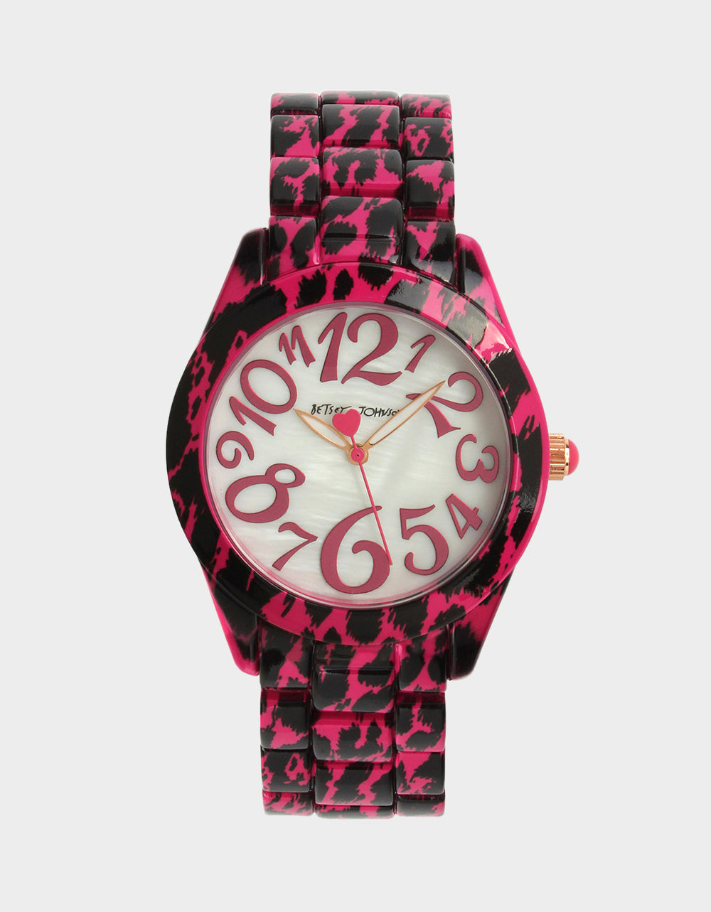 ON THE PROWL WATCH PINK - JEWELRY - Betsey Johnson