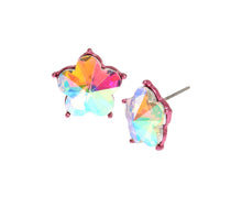 OPULENT FLORAL SMALL FLOWER STUDS CRYSTAL - JEWELRY - Betsey Johnson