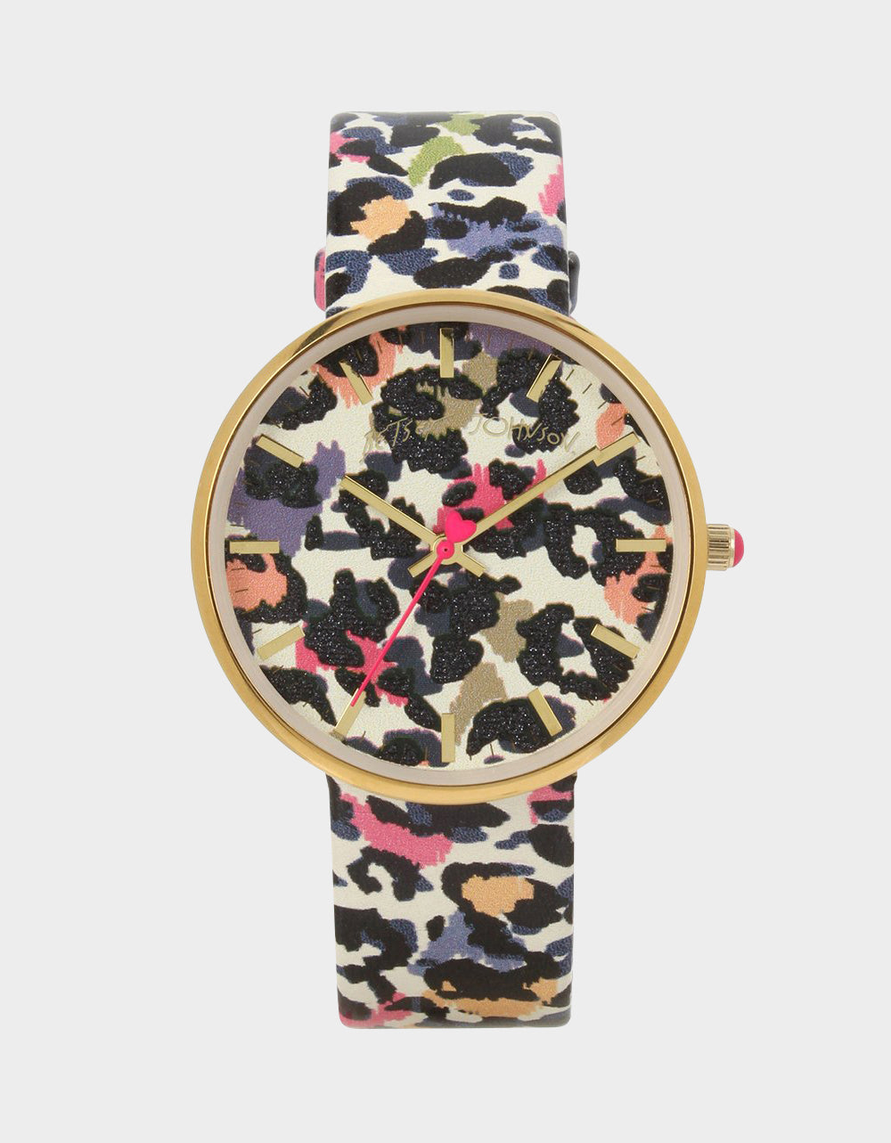OVERTIME 3-D PRINTED WATCH LEOPARD - JEWELRY - Betsey Johnson
