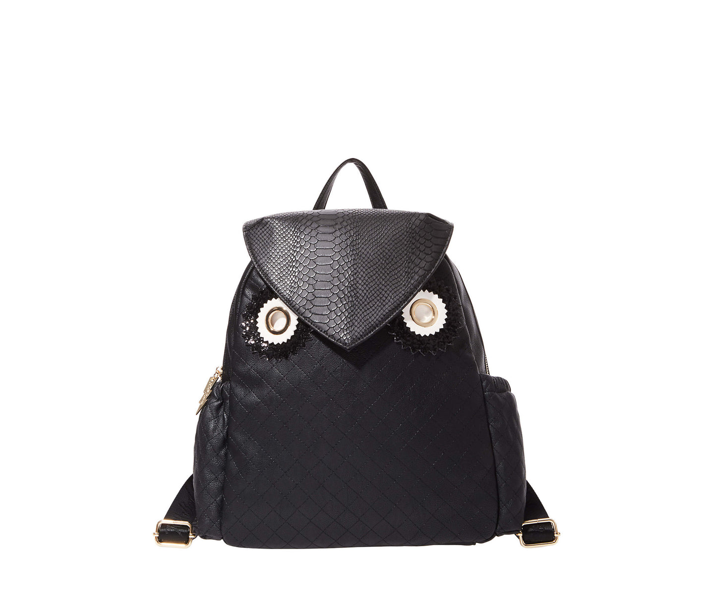 OWL ALWAYS LOVE YOU BACKPACK BLACK - HANDBAGS - Betsey Johnson