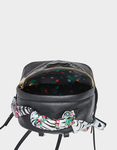 PARTY ANIMAL MINI BACKPACK BLACK