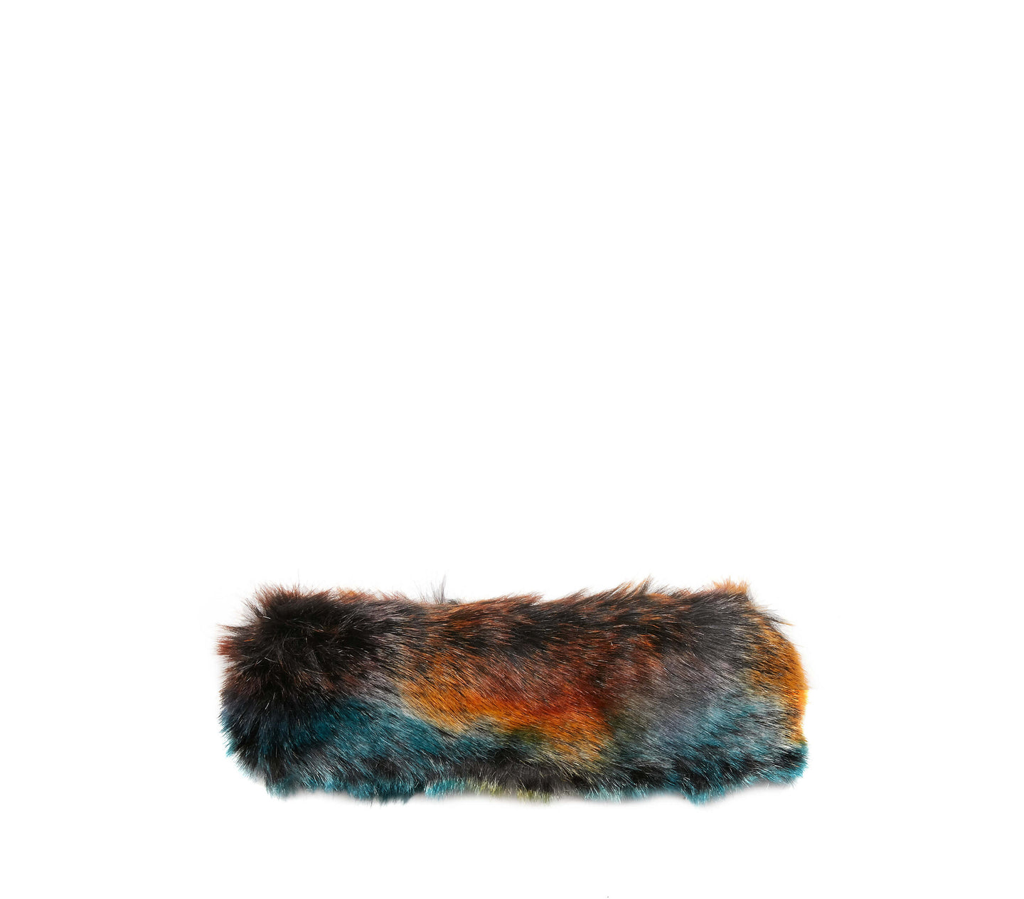 PARTY ANIMAL FAUX FUR HEADBAND MULTI - ACCESSORIES - Betsey Johnson
