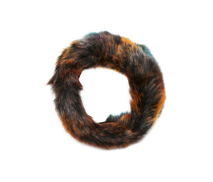 PARTY ANIMAL FAUX FUR HEADBAND MULTI