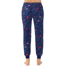 PEACE AND LOVE PANT NAVY