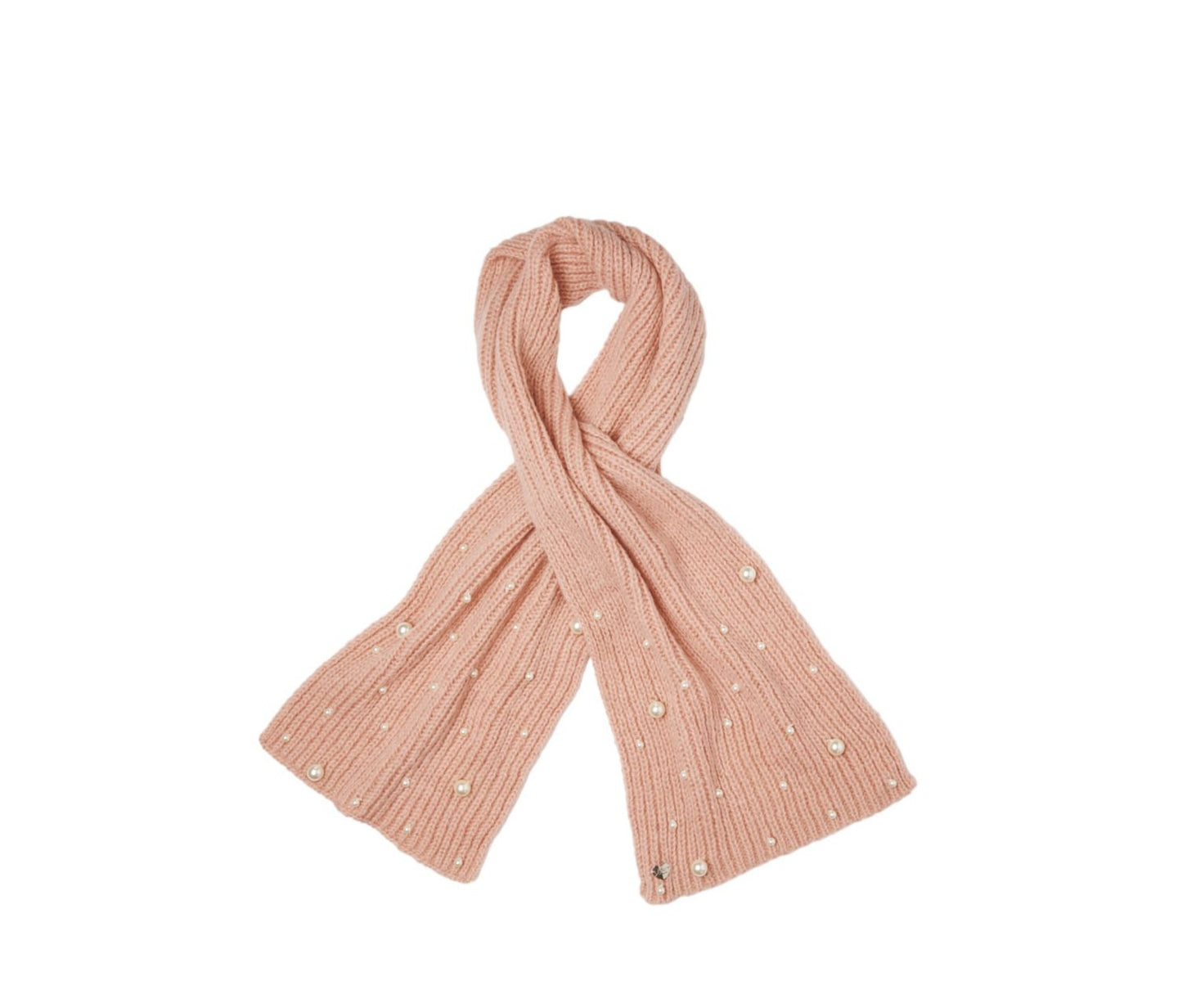 PEARL JAM MUFFLER BLUSH - ACCESSORIES - Betsey Johnson