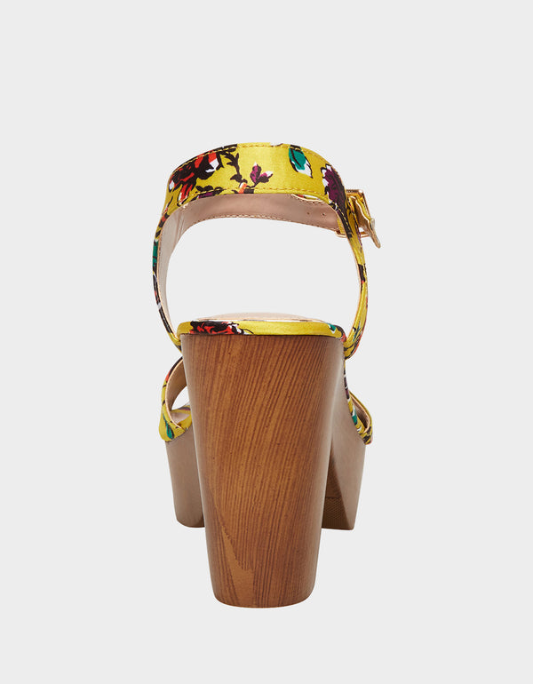 PENN YELLOW MULTI - SHOES - Betsey Johnson