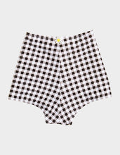 PICNIC ARTIST HIGH WAIST SHORT BLACK/WHITE - APPAREL - Betsey Johnson