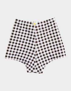 PICNIC ARTIST HIGH WAIST SHORT BLACK/WHITE
