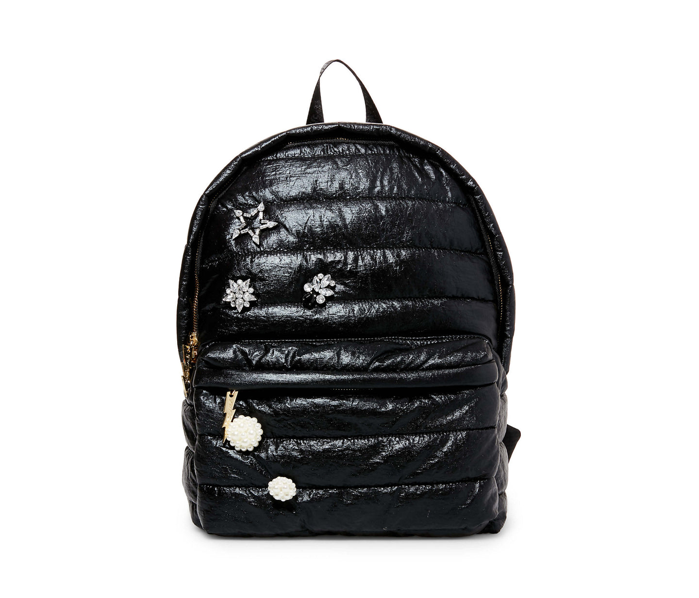 PICTURE PUFF-ECT BETSEY BACKPACK BLACK - HANDBAGS - Betsey Johnson