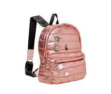 PICTURE PUFF-ECT BETSEY BACKPACK ROSE GOLD - HANDBAGS - Betsey Johnson