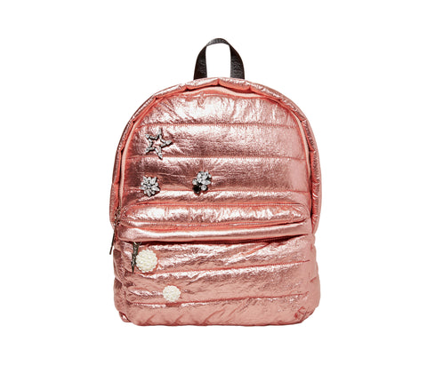 7b28c1aa435f PICTURE PUFF-ECT BETSEY BACKPACK ROSE GOLD
