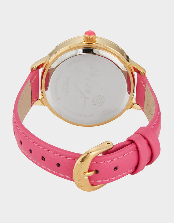 PINATA SURPRISE WATCH PINK - JEWELRY - Betsey Johnson