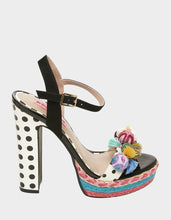 POLKA BLACK MULTI - SHOES - Betsey Johnson
