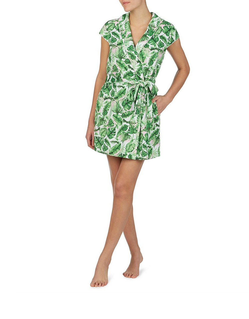 POOLSIDE GLAM ROBE GREEN - APPAREL - Betsey Johnson