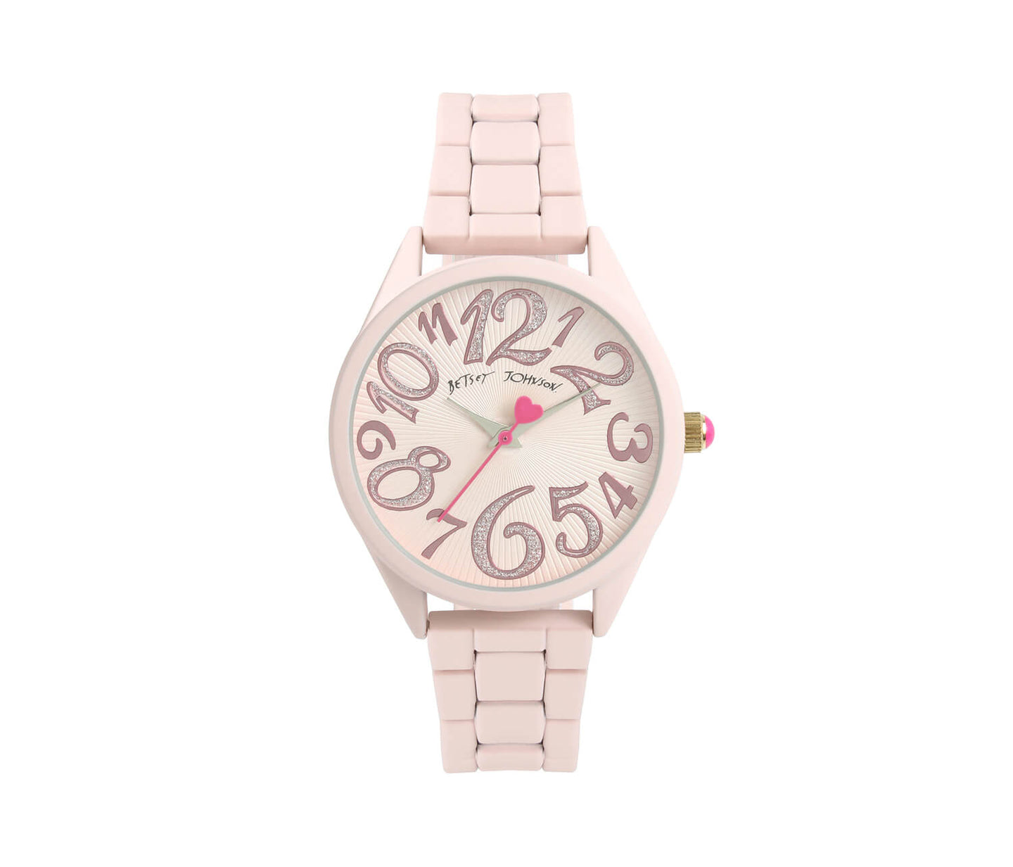 POWDER PUFF PINK WATCH PINK - JEWELRY - Betsey Johnson