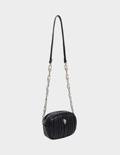 PRETTY PLISSE CROSSBODY BLACK - HANDBAGS - Betsey Johnson