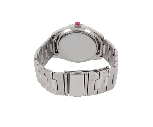 PRINCESS PENGUIN LINK WATCH SILVER - JEWELRY - Betsey Johnson