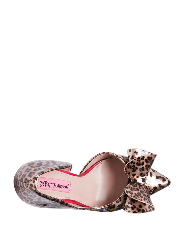 PRINCESS LEOPARD - SHOES - Betsey Johnson