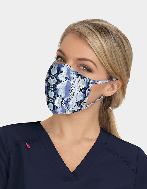 FASHION FACE MASK SET BLUE MULTI - ACCESSORIES - Betsey Johnson